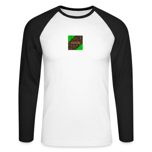 Wokky T Shirt - Långärmad basebolltröja herr