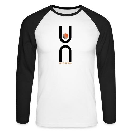 Humanisterna logo - Långärmad basebolltröja herr