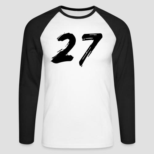 27 - Långärmad basebolltröja herr