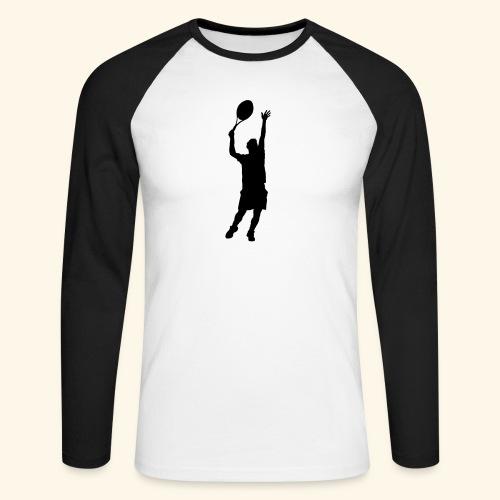 tennisman - T-shirt baseball manches longues Homme