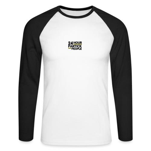 24 Hour Partick People - Men's Long Sleeve Baseball T-Shirt
