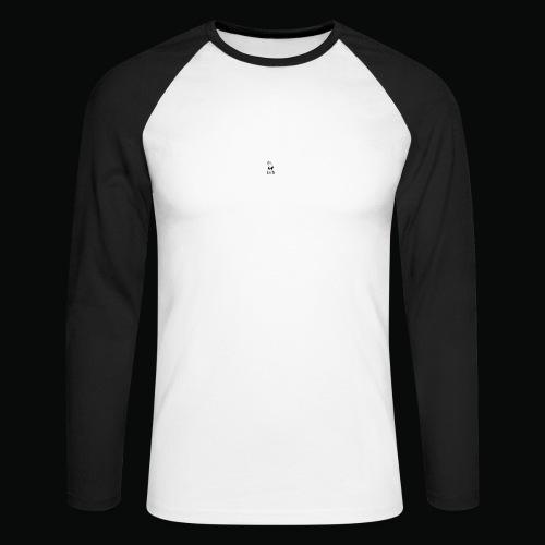 bafti hoodie - Langærmet herre-baseballshirt