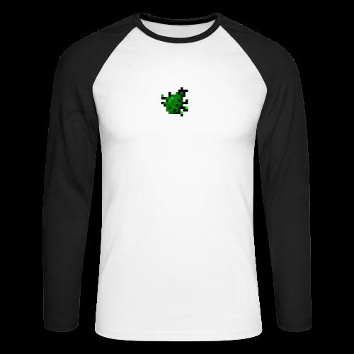 BUG2 png - Men's Long Sleeve Baseball T-Shirt