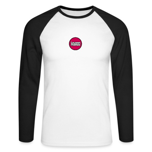 Logo LeuvenMemes - T-shirt baseball manches longues Homme