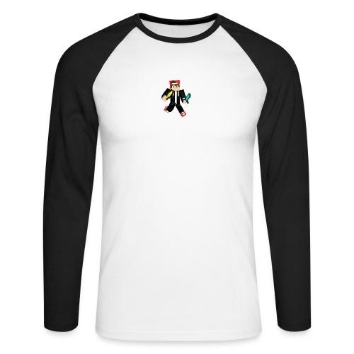animated skin - Männer Baseballshirt langarm