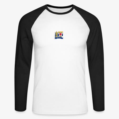 MFCSC Champions Artwork - Men's Long Sleeve Baseball T-Shirt