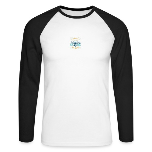 The road isn't long when you have the right compan - Men's Long Sleeve Baseball T-Shirt