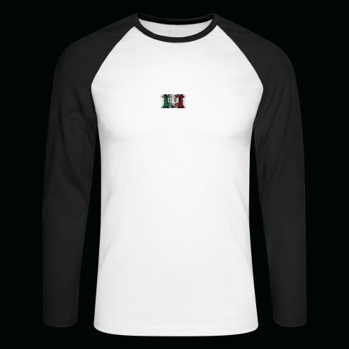 hardcore1 - T-shirt baseball manches longues Homme
