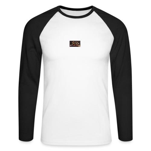 Jaiden-Craig Fidget Spinner Fashon - Men's Long Sleeve Baseball T-Shirt