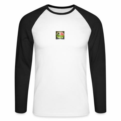 melon view - Men's Long Sleeve Baseball T-Shirt