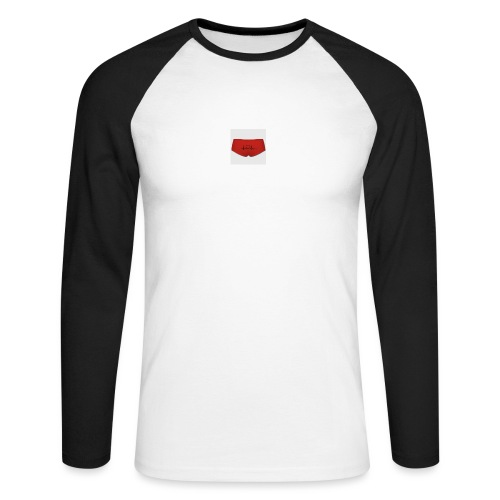 160365660 width 300 height 300 appearanceId 5 back - Langærmet herre-baseballshirt