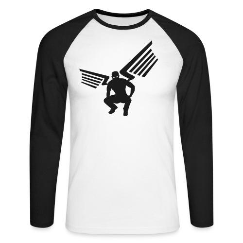 sling baseball - Männer Baseballshirt langarm