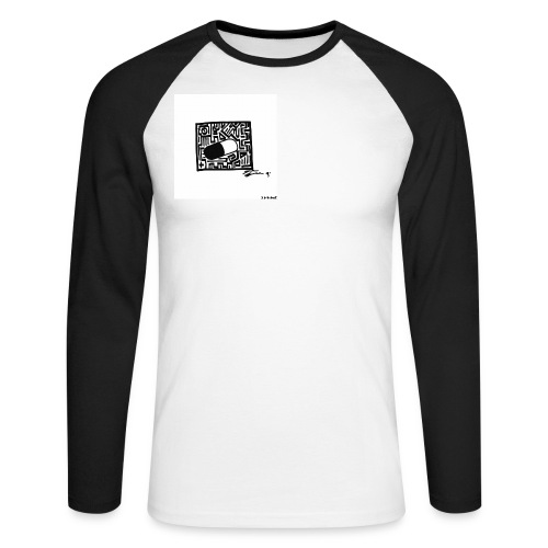 SOLE Pill Design 1 png - Männer Baseballshirt langarm