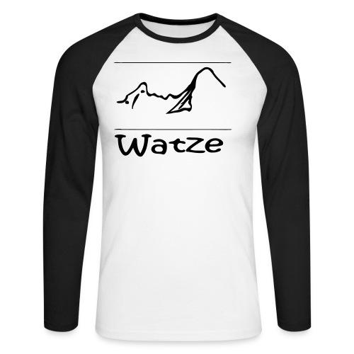 Watze - Männer Baseballshirt langarm