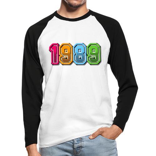 xts05032 - T-shirt baseball manches longues Homme