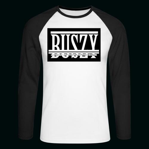 BUSZY 3 - Men's Long Sleeve Baseball T-Shirt