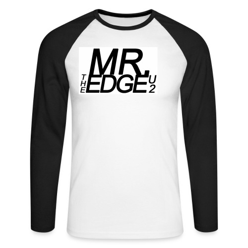 mredge - Men's Long Sleeve Baseball T-Shirt