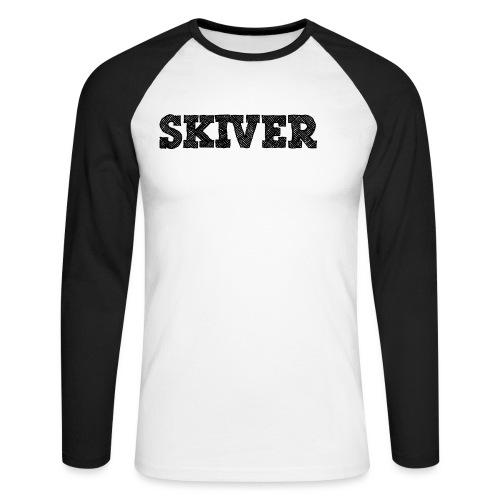 Skiver - Men's Long Sleeve Baseball T-Shirt