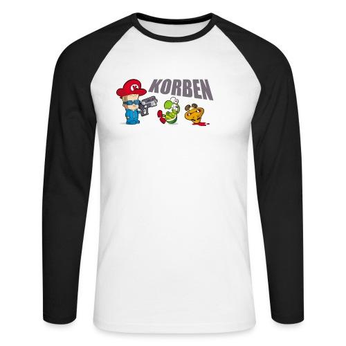 korben 2 dd orig2 - T-shirt baseball manches longues Homme