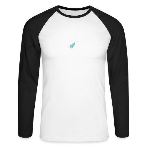 present by Rocket - Männer Baseballshirt langarm