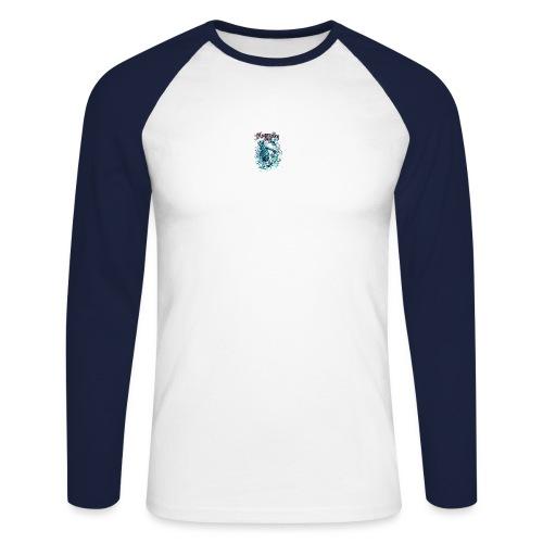 squelette - T-shirt baseball manches longues Homme