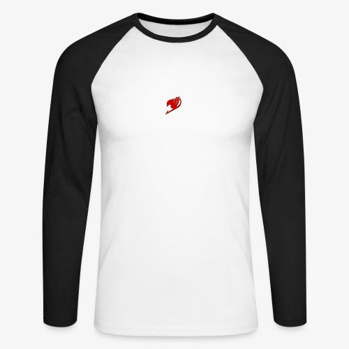 logo fairy tail - T-shirt baseball manches longues Homme