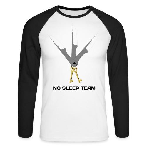 LogoNosleepBlackCompresse - T-shirt baseball manches longues Homme