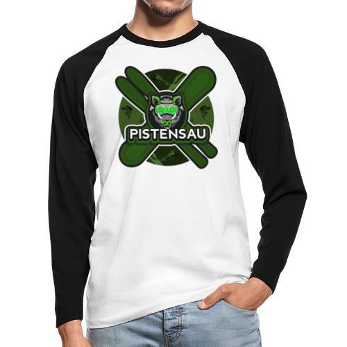 PistenSau NuClear - Männer Baseballshirt langarm