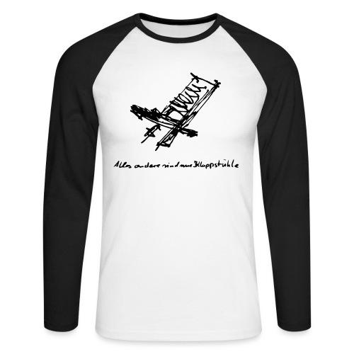 Schwedenstuhl - Männer Baseballshirt langarm