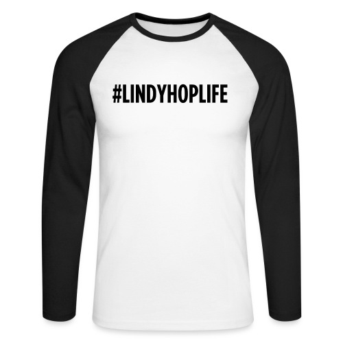 Lindyhoplife - T-shirt baseball manches longues Homme