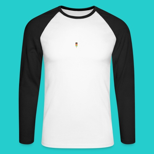 My Awesome Popsicle - Men's Long Sleeve Baseball T-Shirt