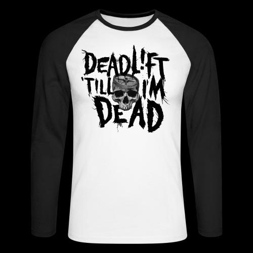 IRON MIND - MAIN - Men's Long Sleeve Baseball T-Shirt