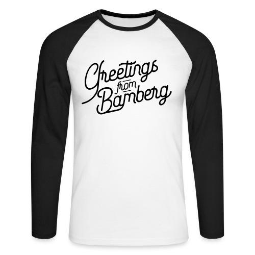 Greetings from Bamberg - Männer Baseballshirt langarm
