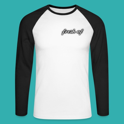 fresh af - Men's Long Sleeve Baseball T-Shirt