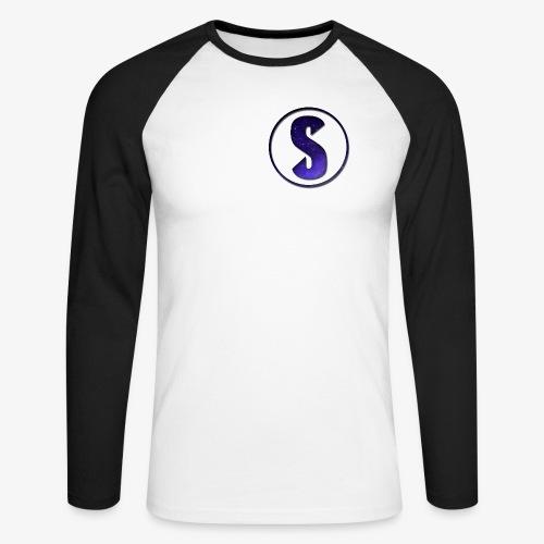 YouTube Logo von Salxphaa - Männer Baseballshirt langarm