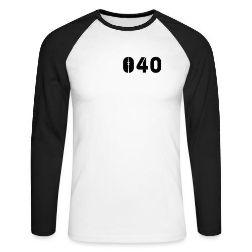 040 - Männer Baseballshirt langarm