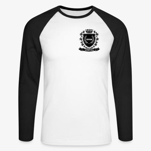 Trzymaj Fason - Koszulka męska bejsbolowa z długim rękawem