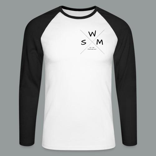 selfmade wear Firmenlogo - Männer Baseballshirt langarm