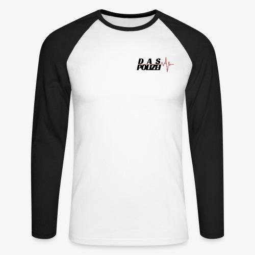 Pulse - Langærmet herre-baseballshirt