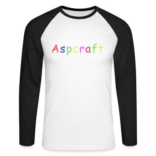 Aspcraft 1 - Långärmad basebolltröja herr