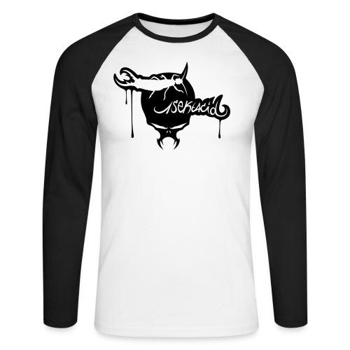 1sekt Skull - T-shirt baseball manches longues Homme
