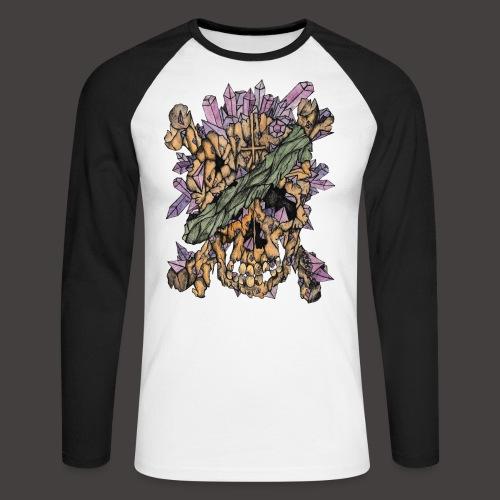 Crane de Pirate de Cristal Couleur - T-shirt baseball manches longues Homme