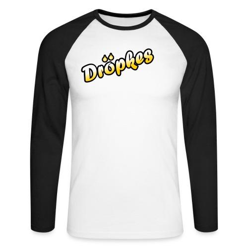 T-Shirt 100% - Männer Baseballshirt langarm