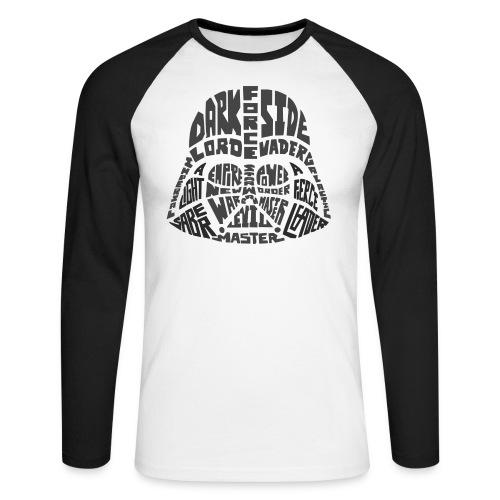 Dark Side - Men's Long Sleeve Baseball T-Shirt