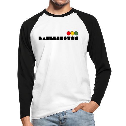 baillieston - Men's Long Sleeve Baseball T-Shirt