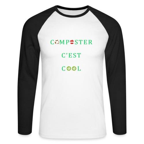 Composter C'est Cool - T-shirt baseball manches longues Homme