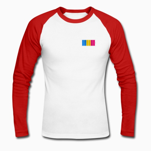 Fulladet Panseksuell - Men's Long Sleeve Baseball T-Shirt
