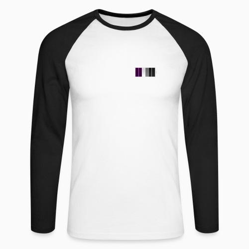 Aseksuelt fulladet - Men's Long Sleeve Baseball T-Shirt