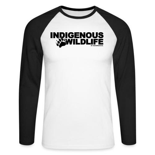 indigenous wildlife new - Men's Long Sleeve Baseball T-Shirt