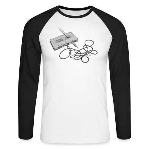 La cassette et son allié - T-shirt baseball manches longues Homme